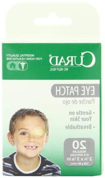 Curad Breathable Eye Patch, Regular Size, 20 Count