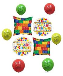 Brick Happy Birthday Balloon Decoration Kit