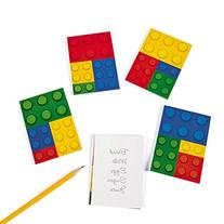 Fun Express Color Brick Party Notepads - 24 Count