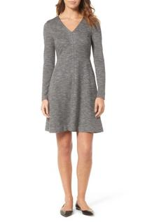 Women's Madewell Bridgewalk V-Neck Dress, Size 0 - Black