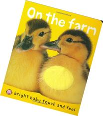 Bright Baby Touch & Feel Slipcase: On the Farm, Baby Animals