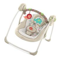 Bright Starts Comfort & Harmony Portable Swing, Cozy Kingdom