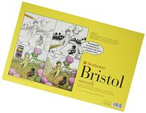 "Strathmore Bristol Smooth Paper Pad 11""X17""-24 Sheets"