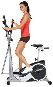 Body Champ Magnetic Cardio Dual Trainer - Elliptical and