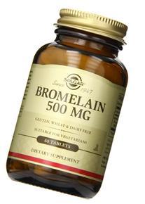 Solgar Bromelain Tablets, 500 mg, 60 Count