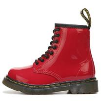 Dr. Martens Kids' Brooklee Combat Boot Toddler Shoes  - 10.0