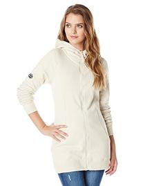 686 Women's Brooklyn Full Zip Fleece, Medium, Ivory