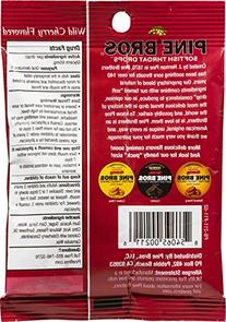 Pine Bros. Softish Throat Drops Value Size Wild Cherry -- 32