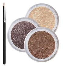 Brown Eyes Smokey Mineral Eyeshadow Kit - 100% Pure All