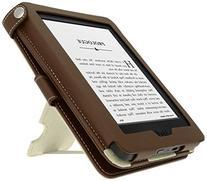 iGadgitz Premium Brown PU Leather Case Cover for New Amazon