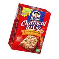 Quaker Brown Sugar Cinnamon Oatmeal to Go 12.6 oz