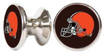 Cleveland Browns NFL Stainless Steel Cabinet Knob / Drawer