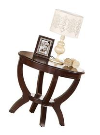 Crown Mark Brownstown Round End Table
