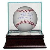Bruce Bochy signed Official Major League Baseball 2X WS