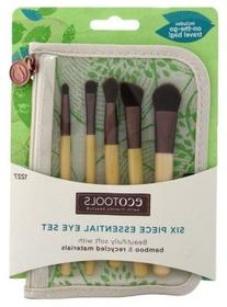Ecotools 1227 Bamboo Eye Brush Set 6 Piece Set