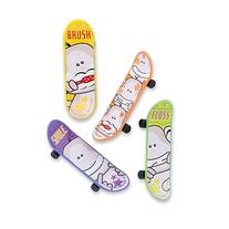 Brush Floss Smile Finger Skateboards - Dentist's Office