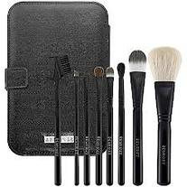 Sephora Brush Set -- Ultimate Travel Tool Kit in Black