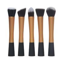 MeGooDo 5pcs Professional Women Makeup Brush Set Gold