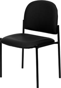 Flash Furniture BT-515-1-VINYL-GG Black Vinyl Comfortable