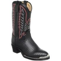 Durango BT840 Lil' Black Lizard Western Boot ,Black Lizard N