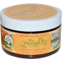 Aroma Naturals Body Btr, Pure Mango, 3.3 Oz