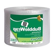"Duck Brand Bubble Wrap Roll, 3/16"" Original Bubble"
