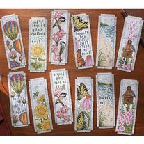 Bucilla Inspired By Nature Bookmarks Counted Cross Stitch