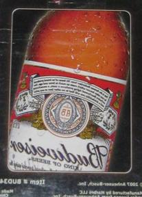 Budweiser Bud King of Beers Playing Cards