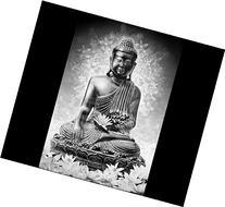 Buddha Art Modern Wall Art Decor Buddhist Temple Artwork