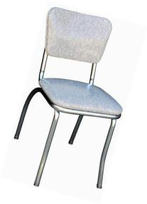 Budget Bar Stools 4110CIG Cracked Ice Retro Diner Chair,