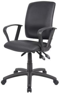 Budget Task Chair with Loop Arms in Black