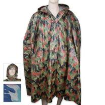 Swiss Camo Wet Weather Poncho