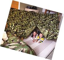 Kids Build a Fort Kit - Green Camo