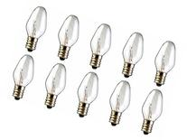 10-Pack 15 Watt Bulbs for Scentsy Plug-In Nightlight Warmer