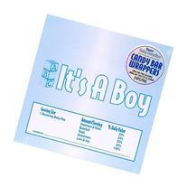 Bulk Buy: Darice DIY Crafts Candy Bar Wrapper It's a Boy
