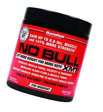 MuscleMeds No Bull XMT Pre-Workout Powder, Fruit Punch, 8.11