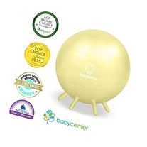 Baby Bump Birth Ball with Base Legs - Stability/Balance/