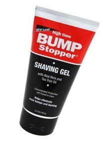 High Time Bump Stopper Shave Gel W/Aloe& Tea Tree Oil 5.3oz