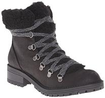 Madden Girl Women's Bunt Boot, Black/Multi, 6 M US