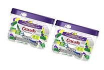 2 Pk, Cascade Platinum Actionpacs Lemon Burst Scent