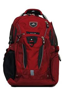High Sierra Business Elite Backpack Red Fits 17'' Laptop