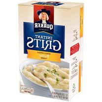 Quaker Butter Flavor Instant Grits, 12 oz