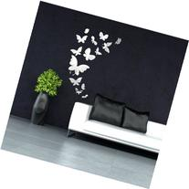 14pcs Butterfly Mirror Wall Stickers Mirror Art Home Decal