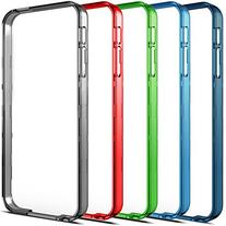 Alpatronix®  Additional & Extra Color Bumpers for iPhone 5