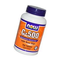 Now Foods C-500 Rh, Tablets, 250-Count