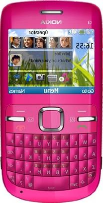 Nokia C3-00 Unlocked Cell Phone with QWERTY, Dedicated E-