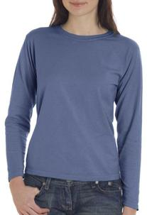 Comfort Colors C3014 Womens Ringspun L Sleeve T Shirt. -