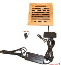 CabCool1201 Single 120mm Fan Cooler Kit with Custom Wood