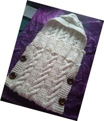 Cable Knitted Infant Sleep Sack
