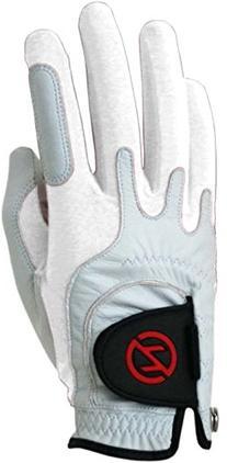 Zero Friction Men's Cabretta Premium Leather Golf Gloves,